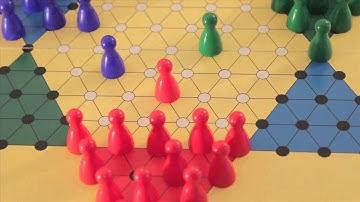 Halma zu Dritt - Spielregeln - Anleitung