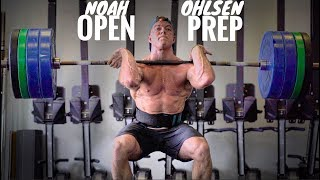 Training day with NOAH OHLSEN: CrossFit® Open prep 2020