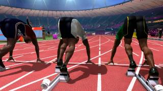 London 2012 The Official Video.Game of the Olympic Games - Track 100M HD