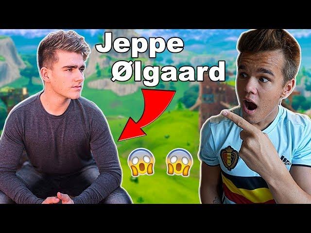 SPILLER FORTNITE MED JEPPE ØLGAARD!!