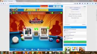 HACK 8 BALL POOL PARA PC 2017 (26/04/2017) ON !