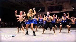 Blue Barbarians Head-Ice Dance Off | O-Week 2013 | Wilfrid Laurier University | Waterloo Campus