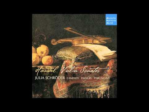 Händel Violin Sonata HWV 359a - Julia Schröder