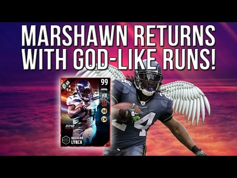 Madden 17 Ultimate Team :: Marshawn Lynch Is Back! GREATEST RUN EVER! :: Madden 17 Ultimate Team