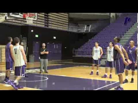 UP Men's Basketball - Kevin Bailey Mic'd Up at Shoot Around