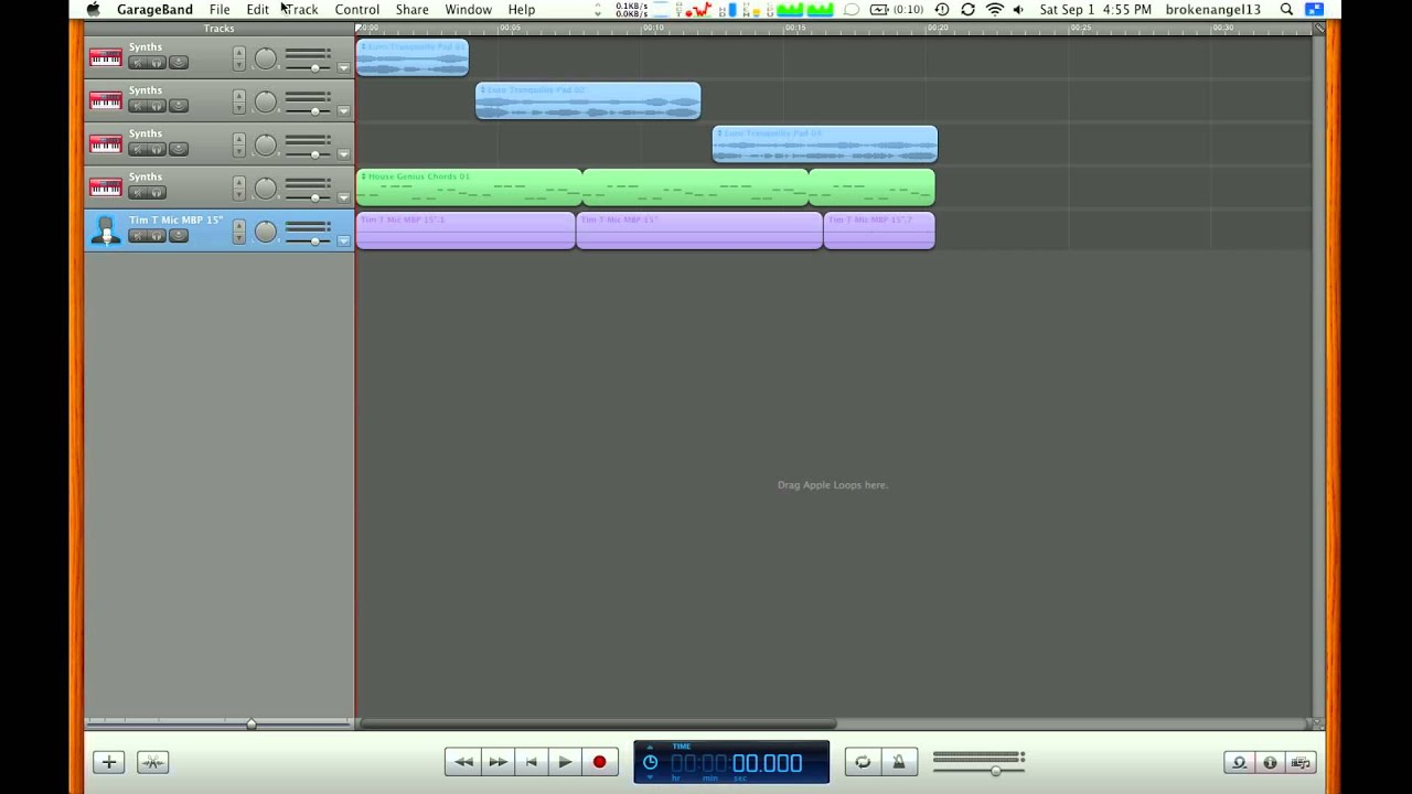 Optimizing A Macbook For Garageband Garageband