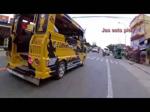 Philippine street view: Cebu Philippines north road highway Consolacion to Liloan
