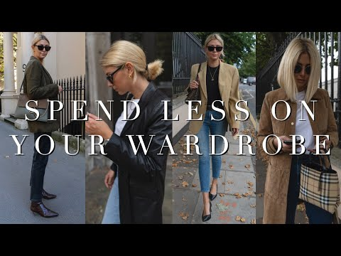 How To Spend Less On Your Wardrobe