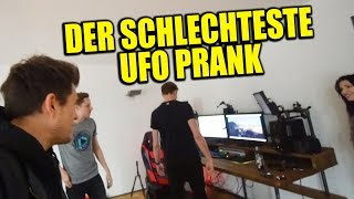 Der schlechteste UFO PRANK an DNER & HABEN DIE SALZKREBSE DIE NACHT ÜBERLEBT?