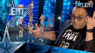 WOW! Estos CUBANOS y su impresionante salto de comba | Audiciones 5 | Got Talent España 2021