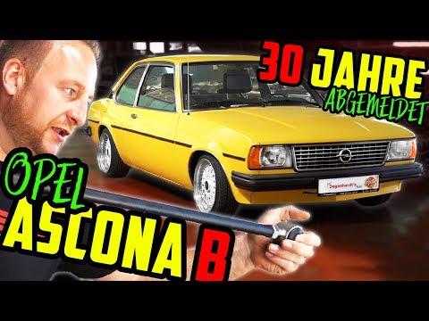 OLDSCHOOL-TUNING! - 80' Opel Ascona B - ERSTE Fahrt Nach 30 Jahren!