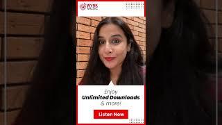Vidya Balan on Wynk Music App!