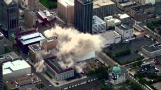 Schwind Building Implosion Dayton Ohio