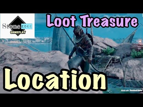 Assassin's Creed Origins - Dead Men Tell No Tales Loot Treasure Location Guide