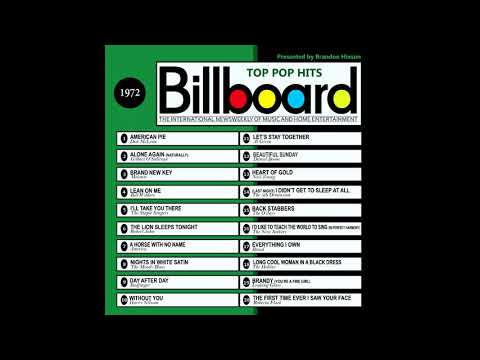 Billboard Top Pop Hits  1972