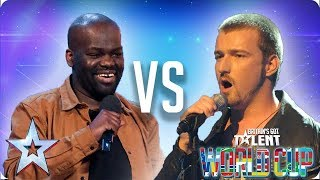 Daliso Chaponda vs Jai McDowall | Britain's Got Talent 2018