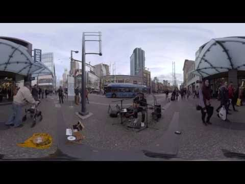 David Morin Money -  360 Video Live On The Streets Vancouver