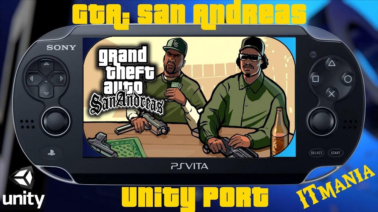 GTA: San Andreas  PS Vita  Unity Port
