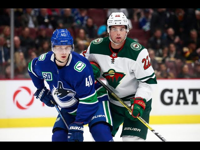 Style Guide: Wild vs Canucks