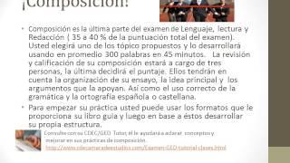 El Examen GED apuntes1 Lenguaje, lectura, redacción y composición