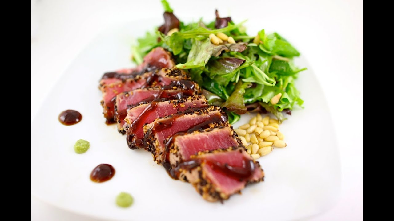 Seared Ahi Tuna - YouTube