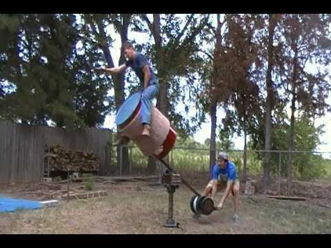 Homemade Drop Barrel Youtube