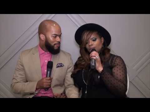 J.J. Hairston & wife Trina share about there upcoming book Amazing Love