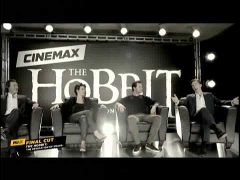 Cinemax interview with Richard Armitage, Benedict Cumberbatch, Evangeline Lilly and Luke Evans