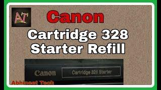 canon 328 cartridge starter re…