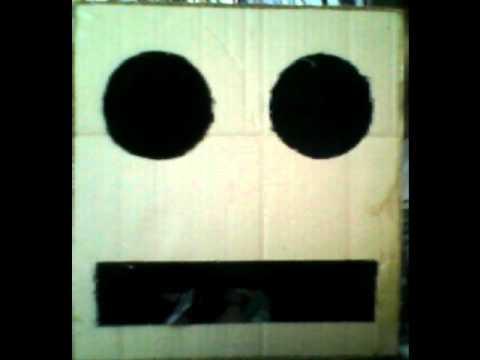 Como hacer la cabeza del robot de party rock mejor - Como hacer una caja de carton ...