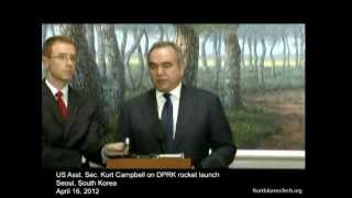 US Asst. Sec. Kurt Campbell on North Korea's rocket launch