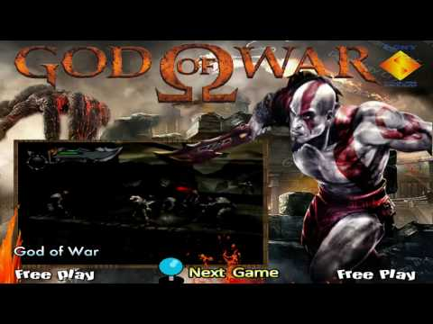 Hyperspin Theme - Sony Playstation 2 - God Of War