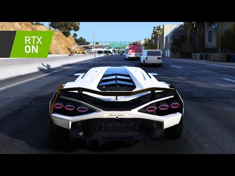 2020 Lamborghini Sian RTX ON || GTA V RAY TRACING [60FPS] _REVIEW