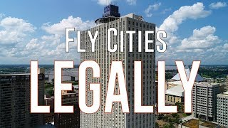 HOW TO Drone in large cities LEGALLY - KEN HERON