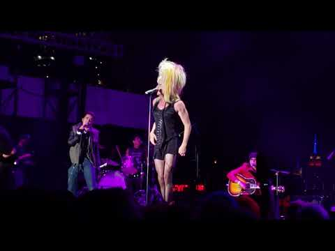 Neil Patrick Harris performs as Hedwig at Wigstock 2.0