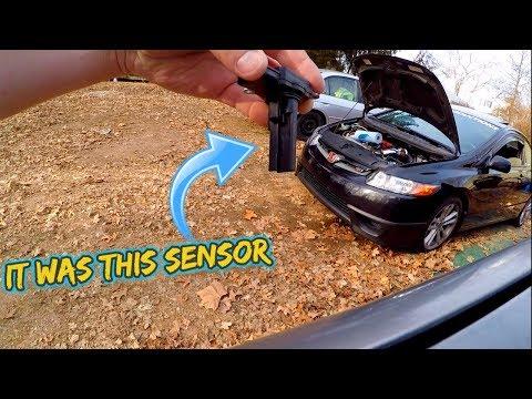 Honda Civic Si no CEL idle air fuel acceleration Problem FIXED!