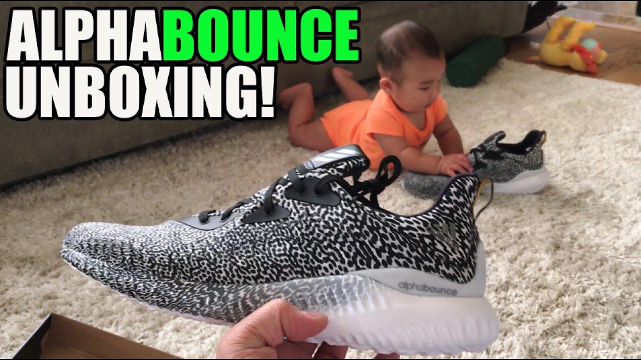 3a2875ae601f Adidas  AlphaBounce Unboxing!  YeezyEffect  - YouTube