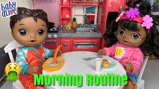 Baby Alive Mix My Medicine Morning Routine