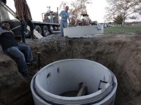 Manhole Dog House Installation Youtube