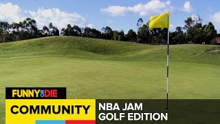 Dollar Pizza: NBA Jam Golf Edition