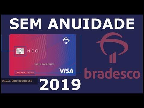 Novo Cartão Bradesco Neo Visa Internacional sem anuidade - saiba mais!