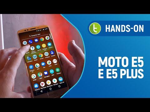 Surpresa! Motorola apresenta Moto E5 e E5 Plus