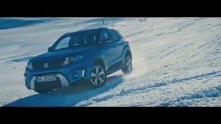 Stars im Schnee: Freestyle mit dem Vitara!