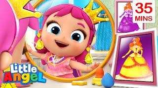 Princess Song + More Little Angel Kid Songs And Nursery Rhymes