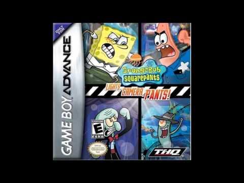 Spongebob Squarepants Lights, Camera, Pants! GBA music Goo Lagoon
