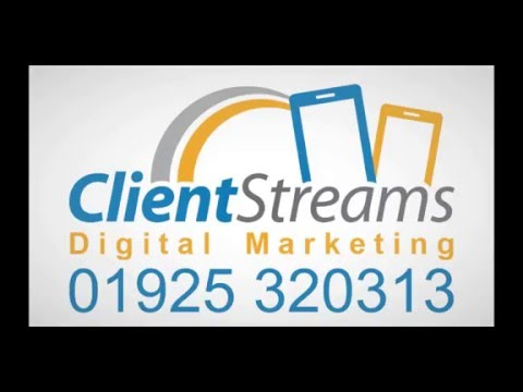 SEO Warrington Cheshire - 01925 320313 Clientstreams SEO