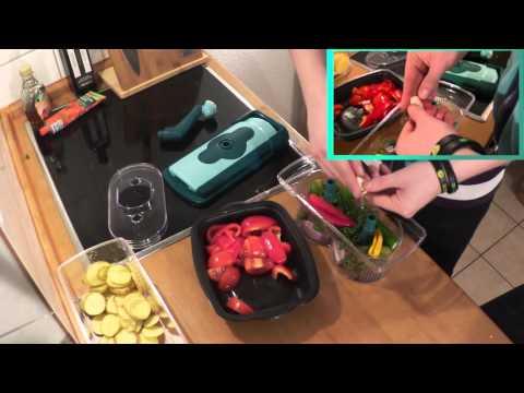 Nicer Dicer Fusion Test + Erfahrung DEUTSCH | Salsa mit Kartoffelchips