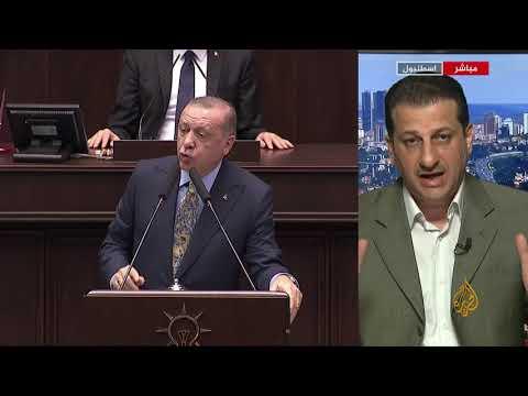 مراسل #الجزيرة: العنوان الكبير لخطاب #أردوغان أن الرواية السعودية غير مقنعة  - نشر قبل 14 ساعة
