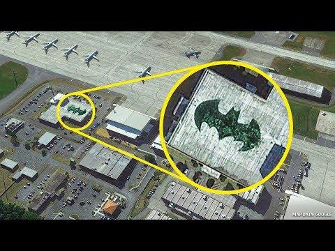 18 Lugares que Google Earth no quiere que veas