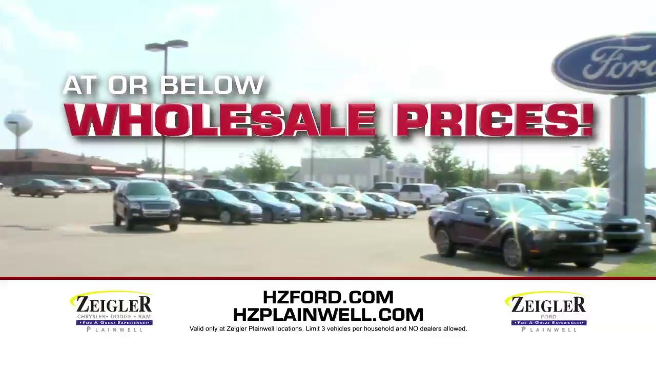 Harold Zeigler Plainwell >> Zeigler Tv Spot Harold Zeigler Ford Of Plainwell Youtube
